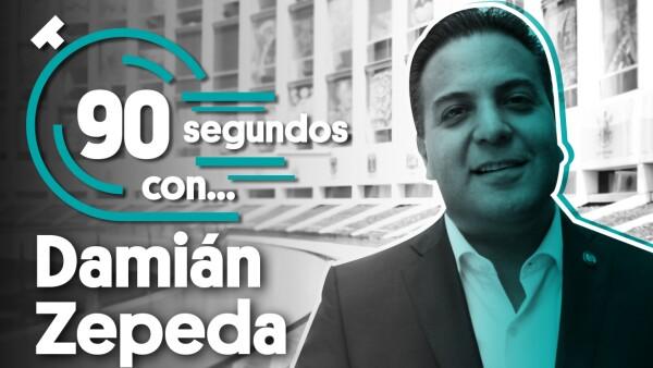 #90SegundosCon | Damián Zepeda