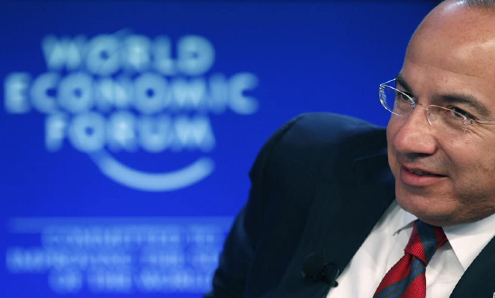 El presidente de México, Felipe Calderón, instó a Estados Unidos a reducir sus emisiones de carbono, en un intento por impulsar su agenda sobre el Cambio Climático.