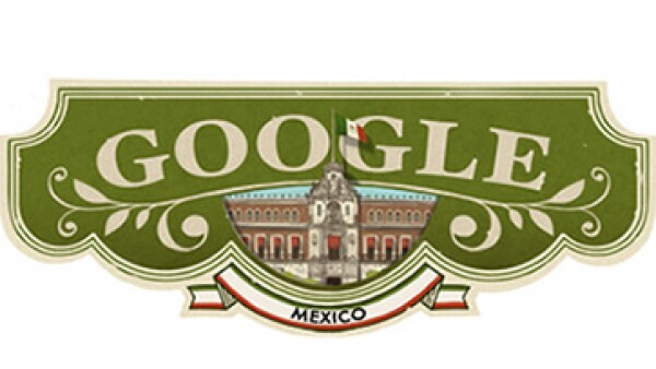 Google se sumó al festejo de las fiestas patrias en México. (Foto: Cortesía Google)