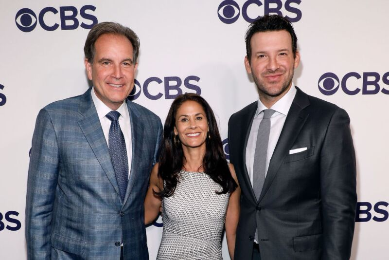 Tony Romo television CBS