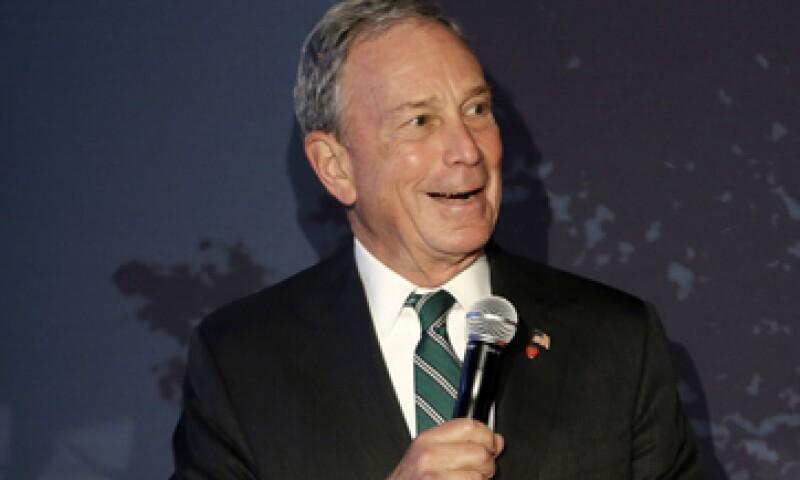Michael Bloomberg también se dijo encantado de que Tumblr, adquirida por Yahoo, naciera en Nueva York. (Foto: AP)