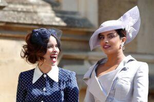 Priyanka Chopra en la boda de Meghan y Harry