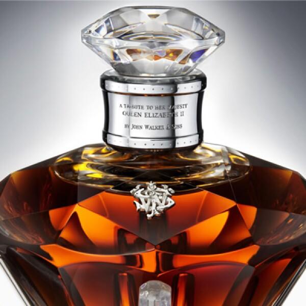 Sólo 60 ediciones de Diamond Jubilee serán puestas a la venta por  John Walker & Sons, las cuales sólo se venderán por invitación.
