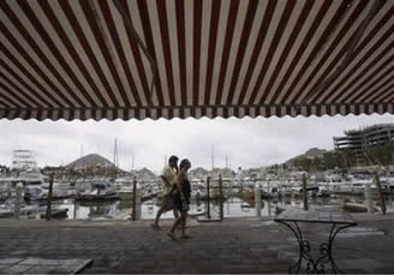 El puerto de Los Cabos se reabrió a la navegación (Foto: AP)
