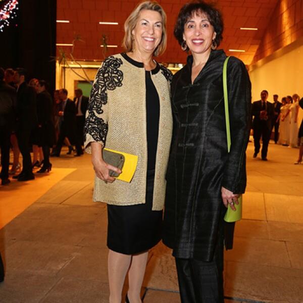 Marie Thérèse Arango y Patricia Agraz