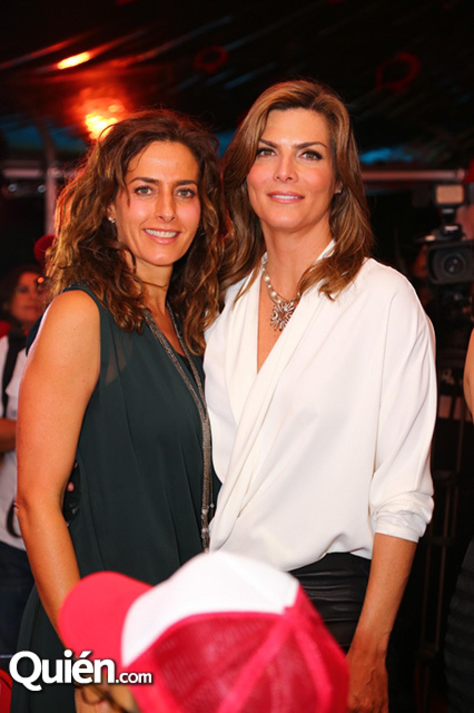 Paola Saad y Montserrat Oliver