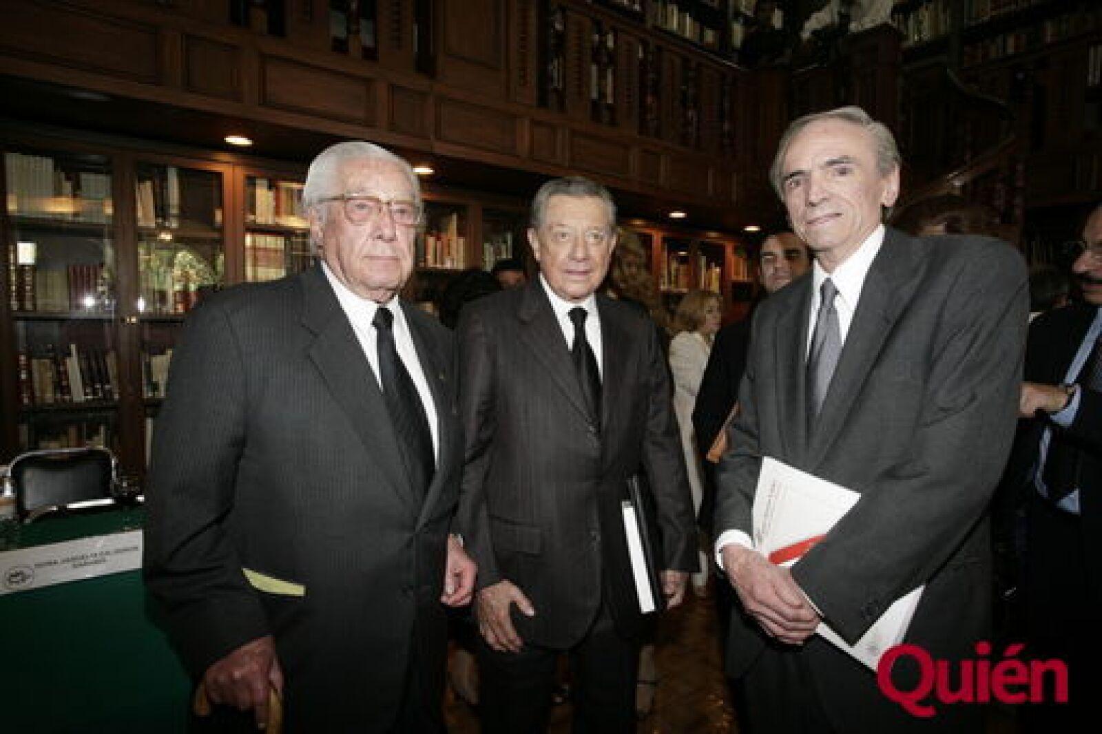 Francisco Javier Gaxiola, Miguel Alemán Velásco, Alejandro Solarso