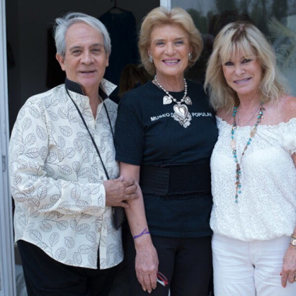 Esteban Matis, Viviana Corcuera y Stephanie Fastlicht
