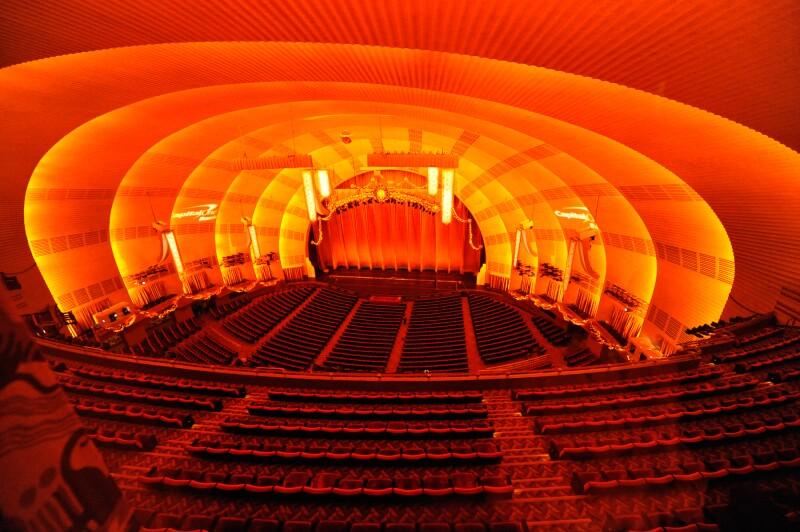 Radio City, en Nueva York.