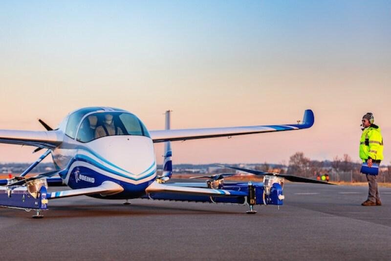 Avión autónomo de pasajeros de Boeing