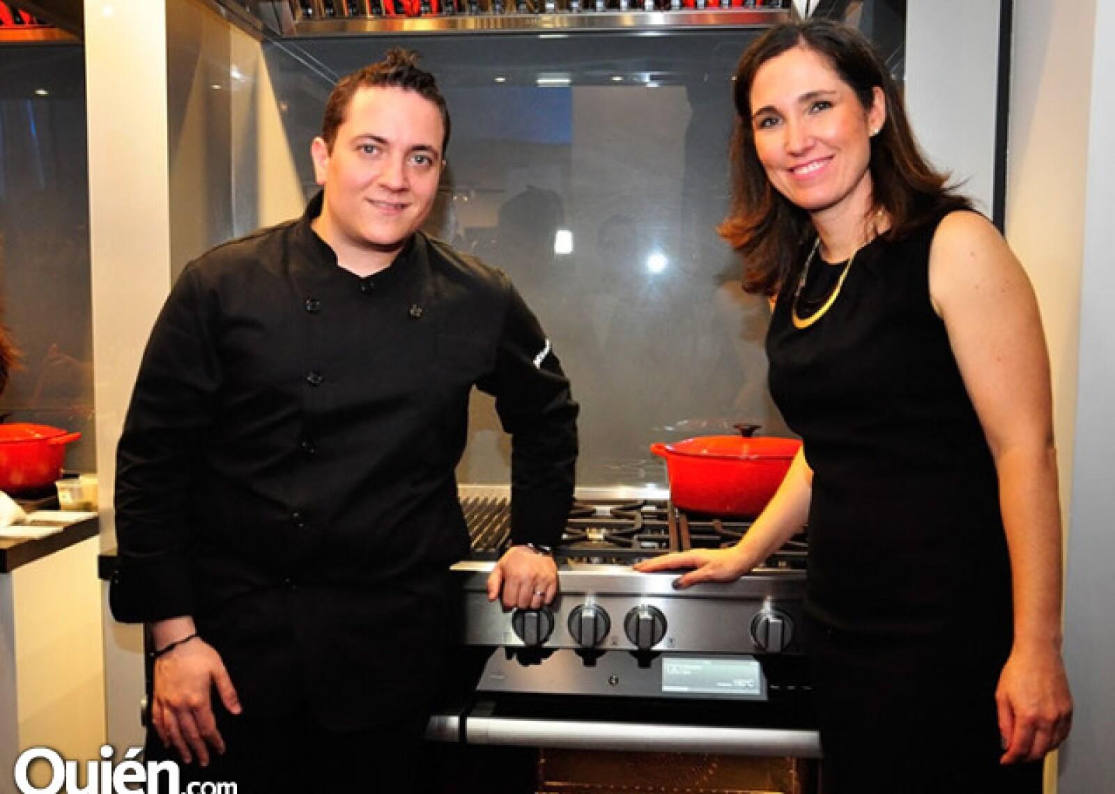 Daniel Ovadía y Ángeles Fernández