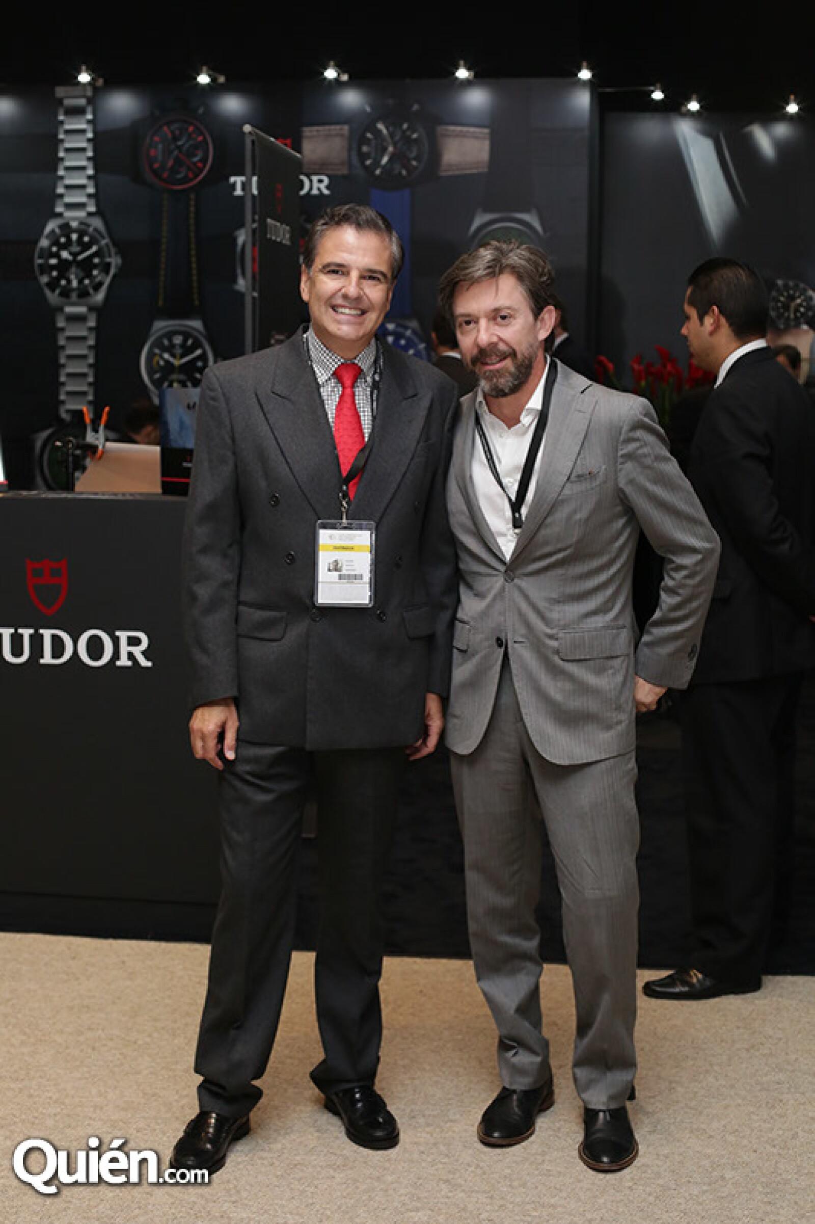 Julián García y Guillermo Díaz de Sandi