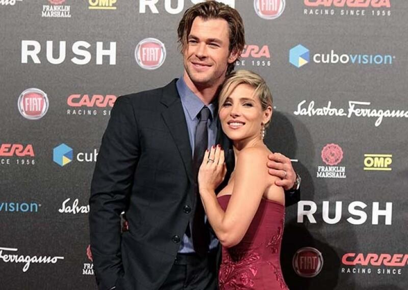 Chris Hemsworth y Elsa Pataky son una de las parejas más envidiables de Hollywood.