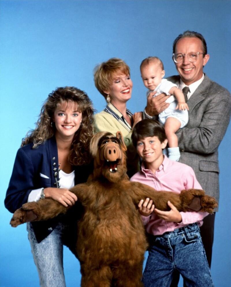 Alf y los Tanner.
