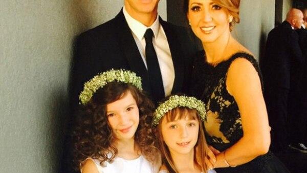 Andrea Legarreta y Erik tienen dos hijas en común, Mía y Nina.