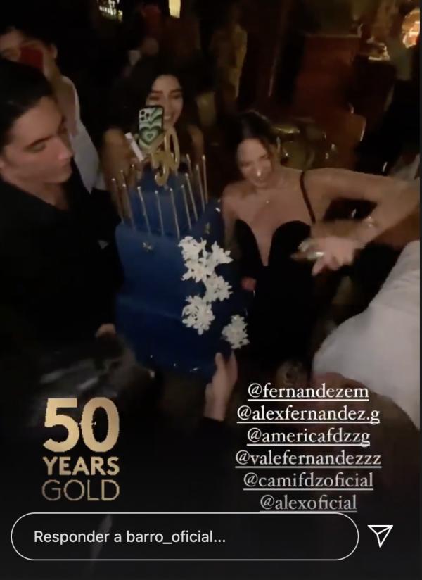 Fiesta de cumpleaños de Alejandro Fernández