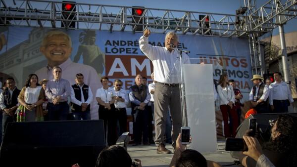 AMLO Tijuana acto por la unidad