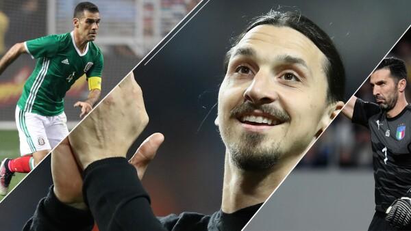 Rafael Márquez, Zlatan Ibrahimovic, Gianluigi Buffon