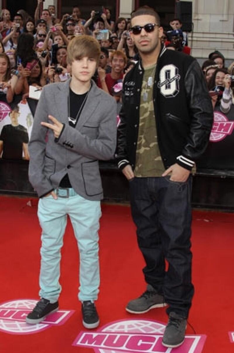 Drake es otro famoso que se preocupa por su amigo Justin.