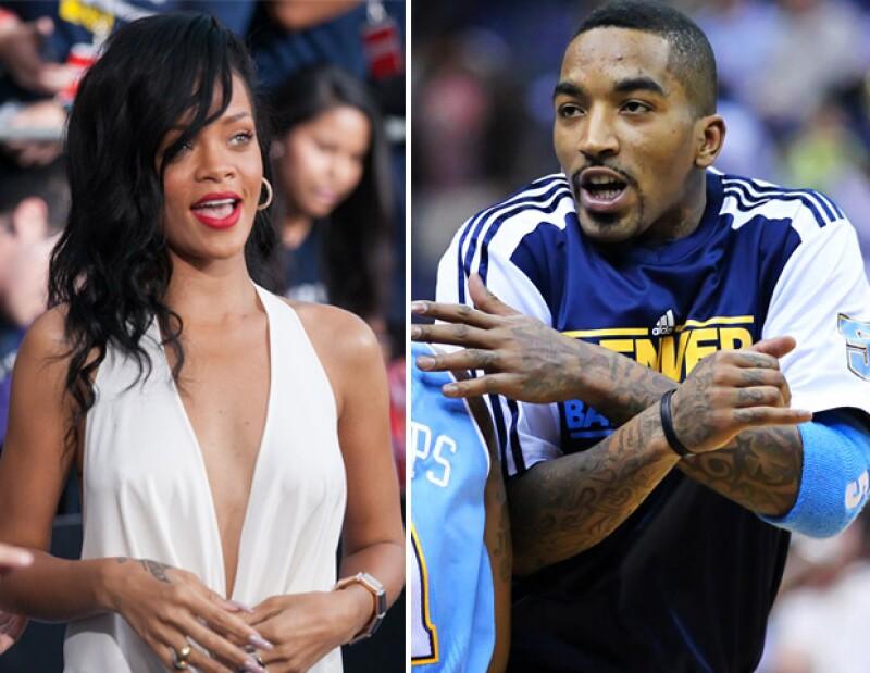 La popular cantante fue vista en una actitud cómplice y besándose con el jugador de los Knicks J.R. Smith a la salida de la discoteca Veranda de Nueva York a principios de este mes.