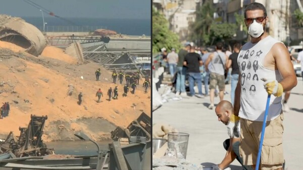 Decenas de personas siguen desaparecidas en Beirut tras la explosión