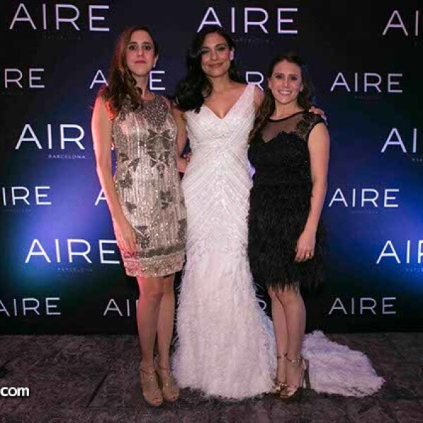 Mariela Molina,Ana Brenda y Ana Laura Capetillo.