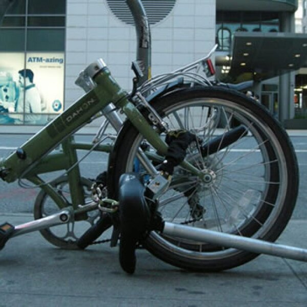 El uso de bicicletas plegables aumenta en el mundo