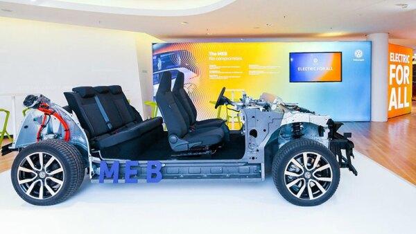 Volkswagen tiene una nueva plataforma para autos eléctricos
