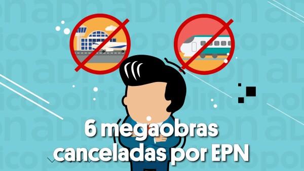 6 megaobras canceladas por Peña