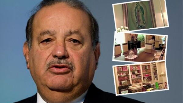 Fue al comunicador Larry King a quien el hombre más rico del mundo le mostró su residencia en México; ahí le aseguró que hacer dinero no es su meta.