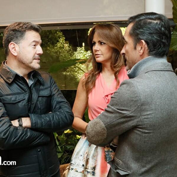 Alejandro Salmón, Luz Blanchet y Alberto Ituarte
