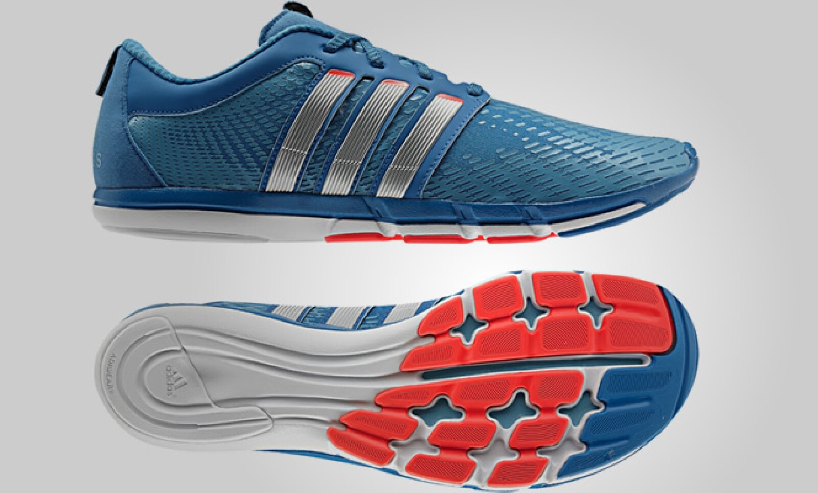 La línea adiPure brinda soporte al sistema músculo-esquelético de los pies para que los corredores puedan llegar a ser más rápidos y fuertes, de manera más pura y natural.