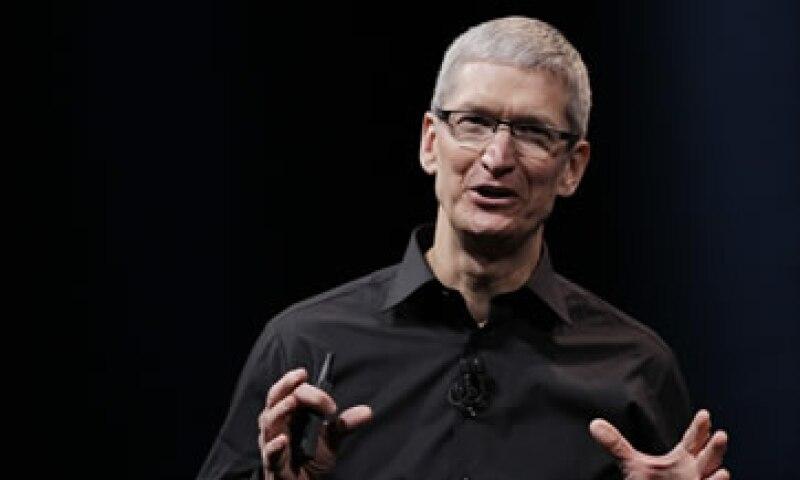 Cook recalcó que la filosofía de Apple es crear siempre los mejores productos. (Foto: AP)
