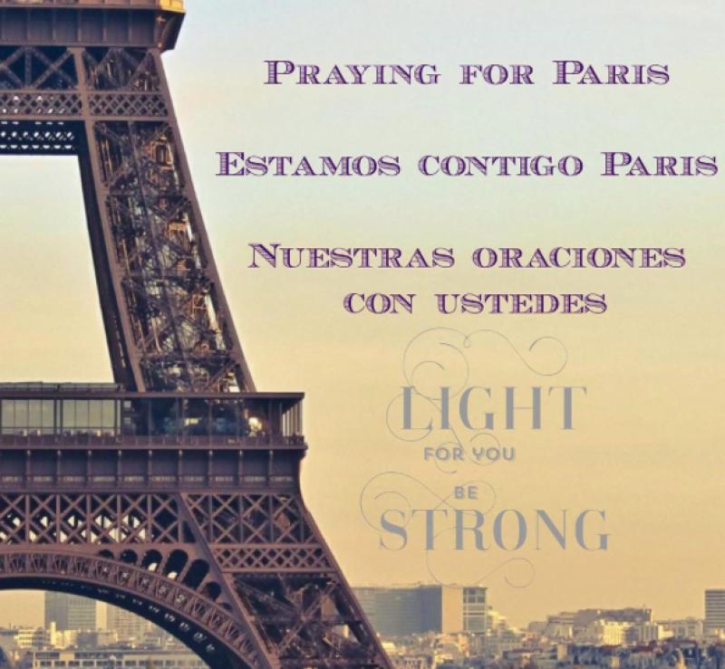 Desde Nueva York, Thalía se solidarizó con la tragedia.