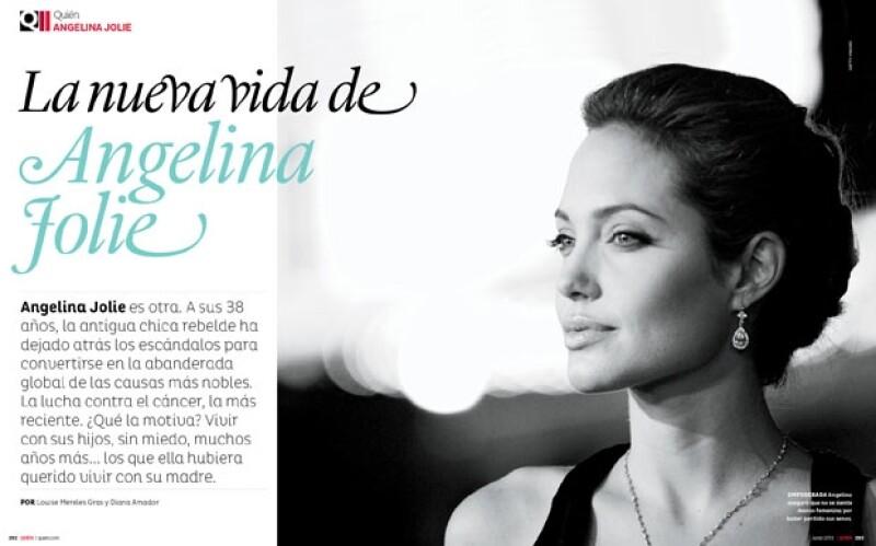 Angelina Jolie atravieza una nueva historia.