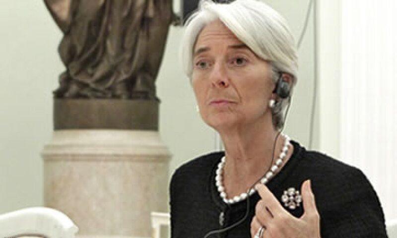 La directora del FMI abogó por una mayor transparencia para que los inversionistas acudan al rescate de la eurozona. (Foto: AP)