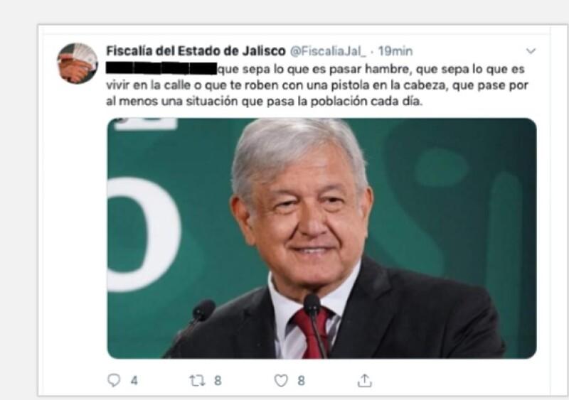 twitter fiscalía de jalisco