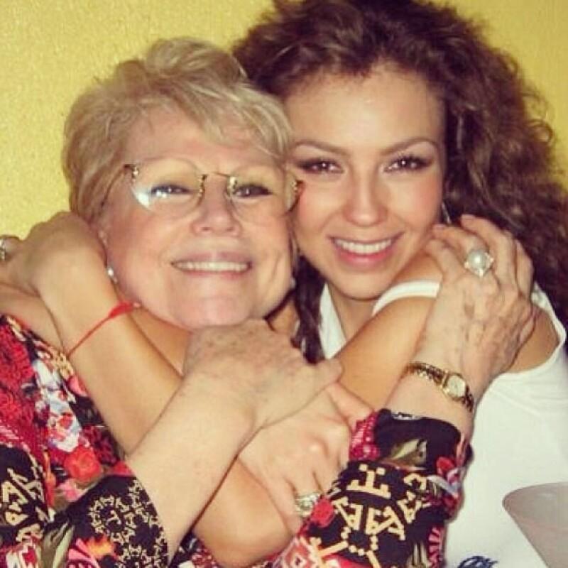 La cantante expresó su profundo amor por quien perdiera la vida hace dos años a causa de un derrame cerebral.
