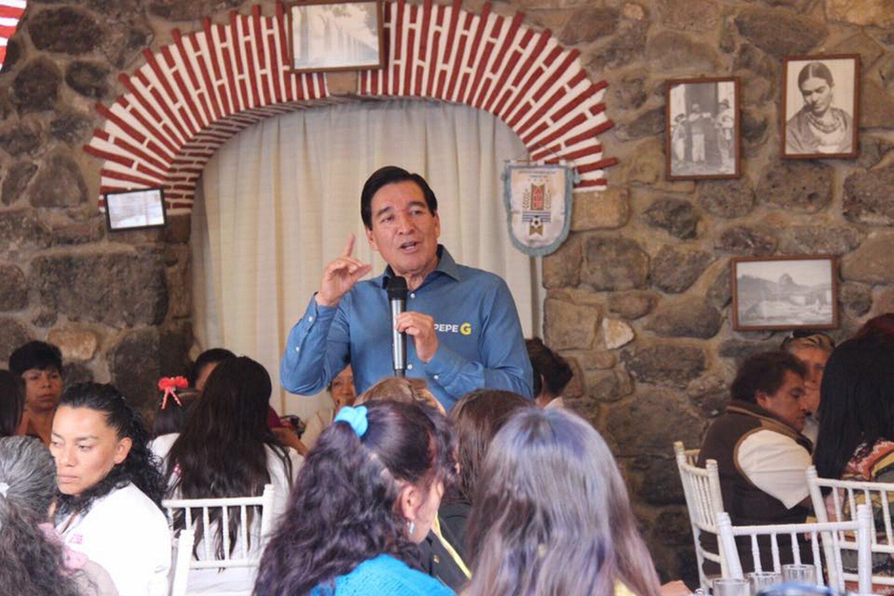 El candidato del PRD a gobernador de Hidalgo, José Guadarrama, plantea las prioridades a atender en los primeros meses de gobierno, si gana la elección del 5 de junio.
