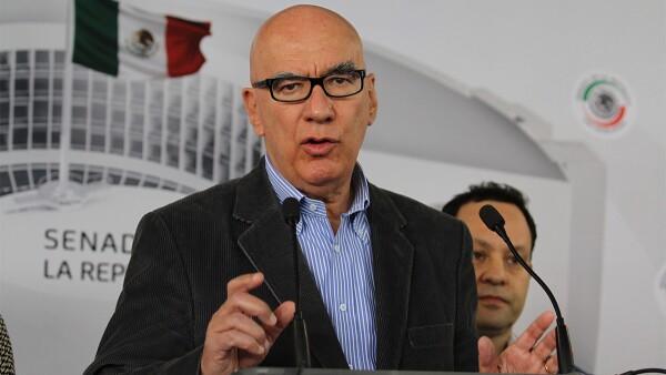 Movimiento Ciudadano cuenta con ocho senadores que coordina Dante Delgado.