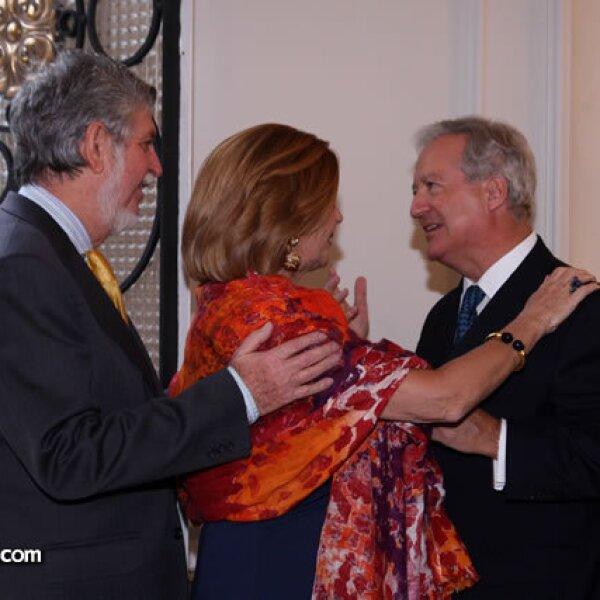 Manuel y Cristina Alabart,Daniel Parfait