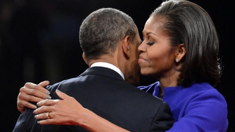 barack y michelle obama, primer debate