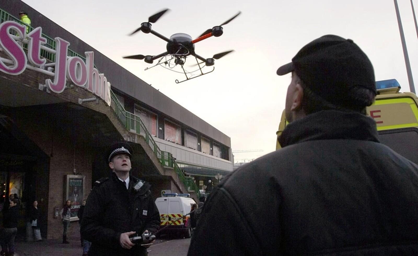 drone usos policía