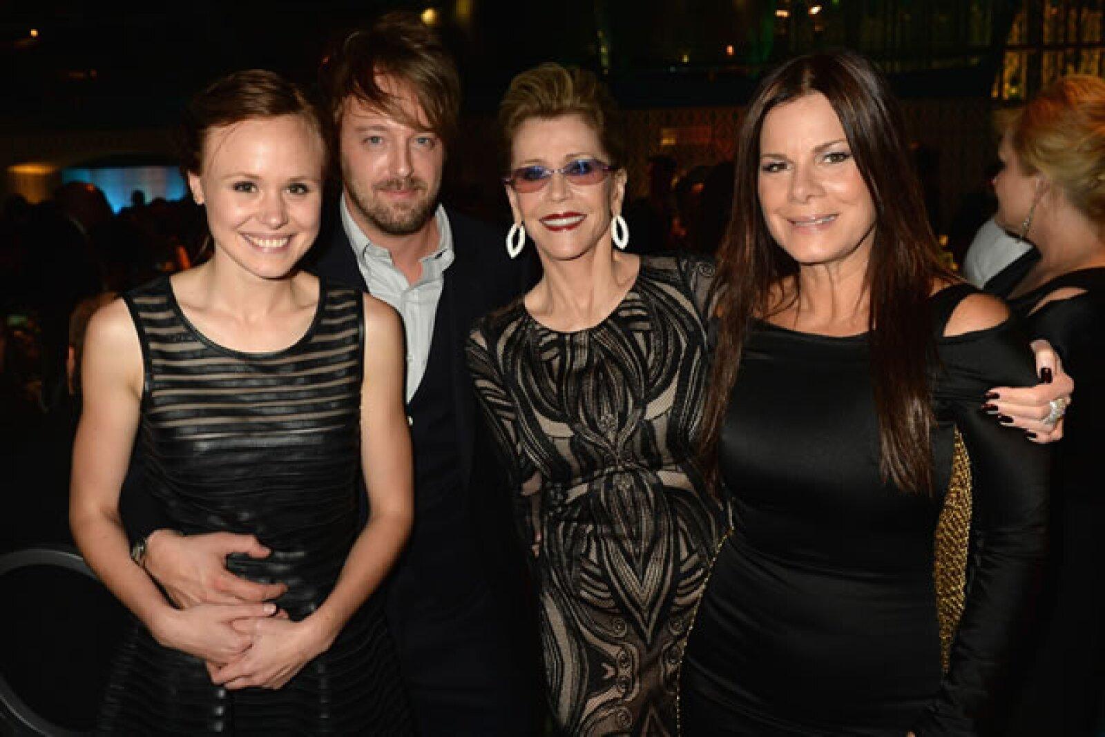 Alison Pill, Jane Fonda, Marcia Gay Harden