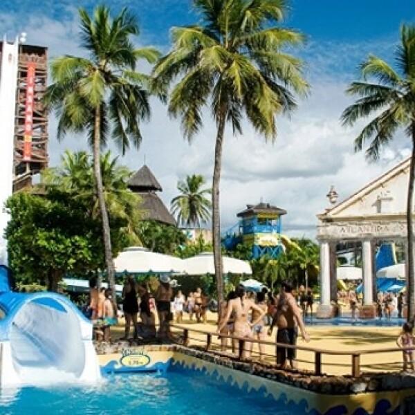 parques acuaticos Beach Park Fortaleza Brasil