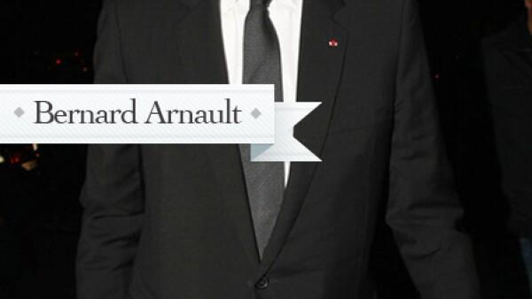 El presidente del conglomerado de lujo LVMH (Moët Hennessy Louis Vuitton) al que pertenece la casa francesa. En 1968 la compañía adquirió Dior Perfums para luego comprar el resto de las acciones de la firma cuando el grupo Boussac se declaró en quiebra (1979).