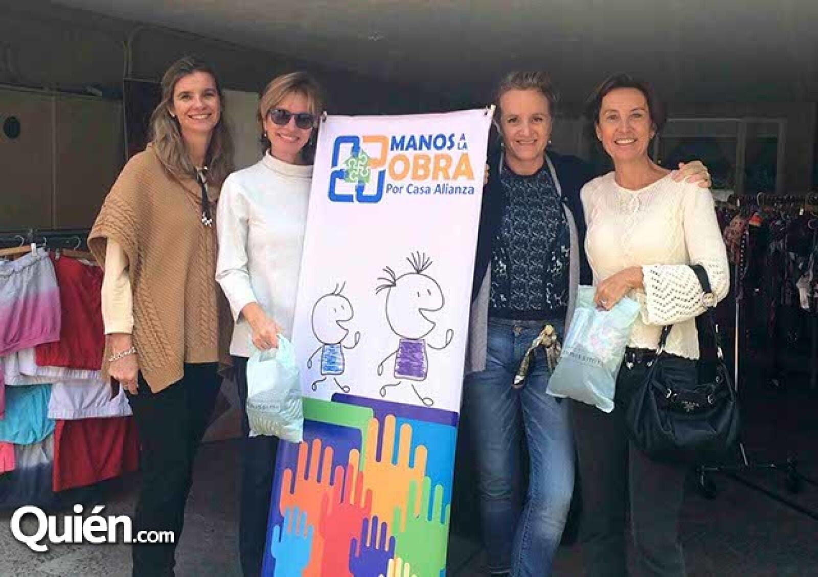 Ingrid Nohe,Mariel Jenkins,Patie Sutciffe y Peggy Jenkins
