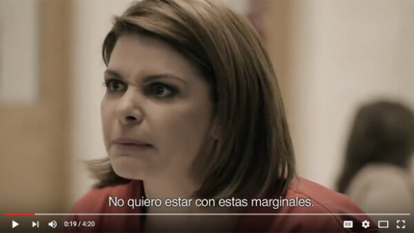 """La actriz dio vida de nuevo a su personaje de """"Soraya Montenegro"""" en un increíble promocional de Netflix para la serie."""