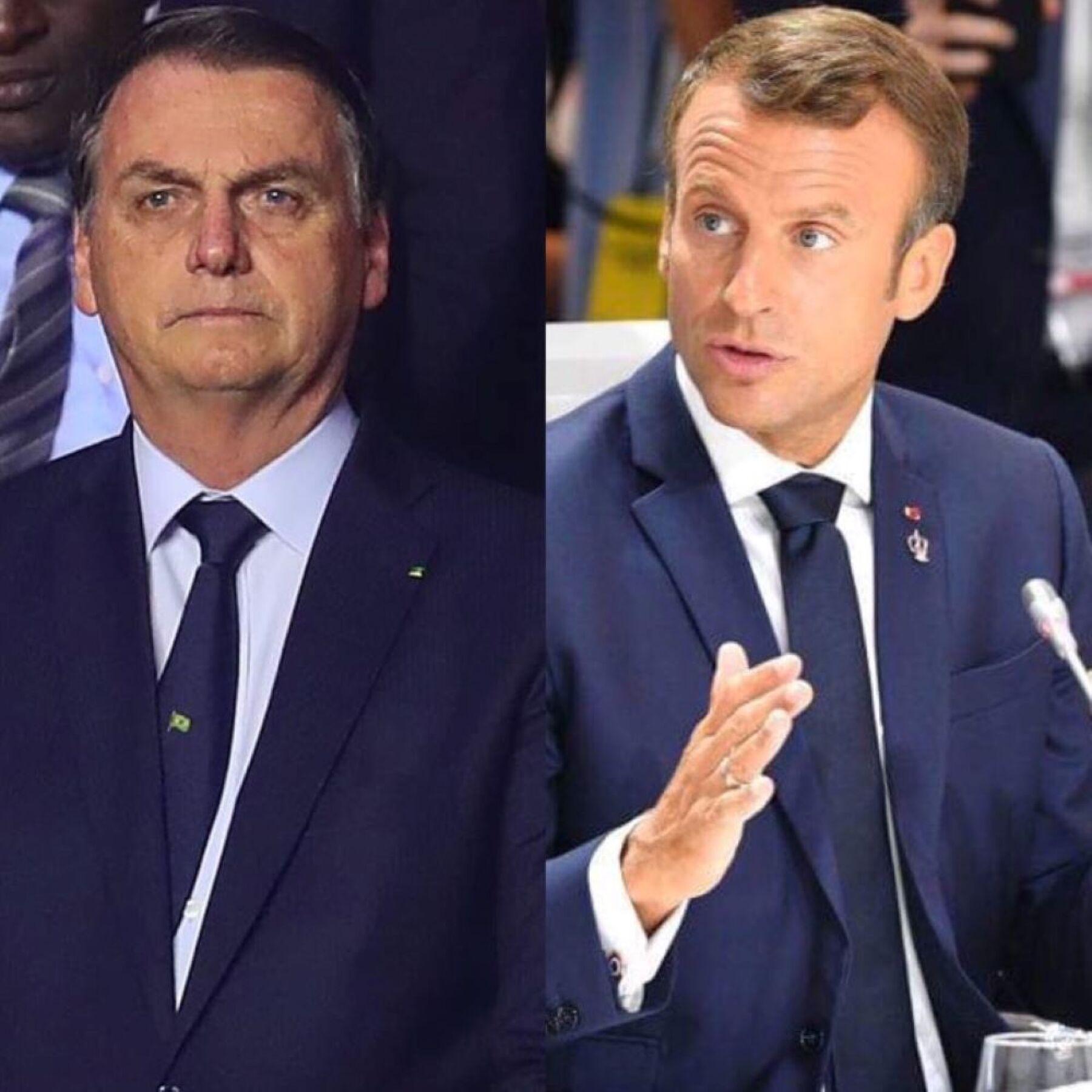 Emmanuel Macron Enfrenta Al Presidente De Brasil Por Burlarse De Su Esposa