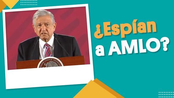 #EnSegundos ⏩ El presidente #AMLO reveló que alguien lo espiaba en Palacio Nacional 🤯
